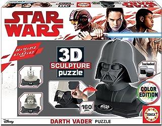 Educa - Star Wars-Darth Vader 3D Sculpture Puzzle, Multicolor (17334)