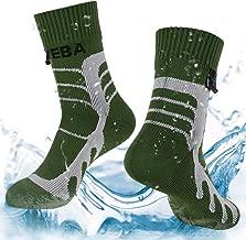 Layeba 100% Waterproof Breathable Socks [SGS Certified] Unisex Outdoor Sports Hiking Trekking Skiing Socks 1 Pair & 2 Pairs