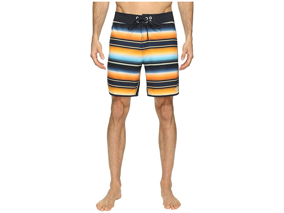 The North Face Whitecap Boardshorts Short (Exuberance Orange Serape Print (Prior Season)) Men