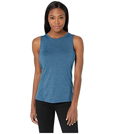 Smartwool Merino Sport 150 Tank (Marlin Blue Heather) Women