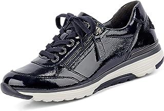 Gabor Rollingsoft Sneaker in grote maten blauw 36.973.26 grote damesschoenen