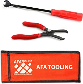 AFA Tooling 30 Degree Push Pin Removal Pliers and 9 Inch Fastener Removal Tool