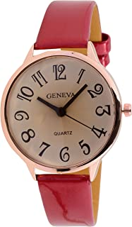 Geneva Casual Watch For Women Analog Stainless Steel - G002