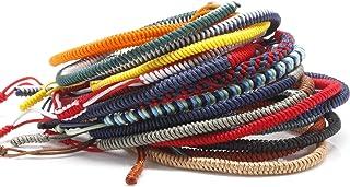 برادران Dowling 3 بسته تبتی تبتانه لاکپشت حداقل طناب دستبند دستبند دستبند دستبند
