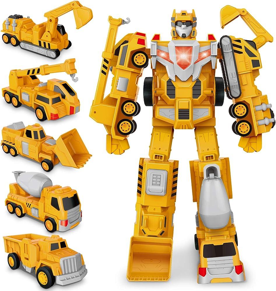 Bimonk, transformers robot, costruzione assembla giocattolo JQR106