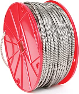 Koch Industries 016122 Koch 16122 Aircraft Cable, 1/8 in Dia X 250 Ft L, 350 Lb