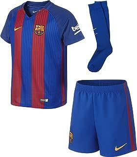 Nike 2016-2017 Barcelona Home Little Boys Mini Kit