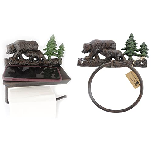 Bear Bathroom Decor Amazon Com