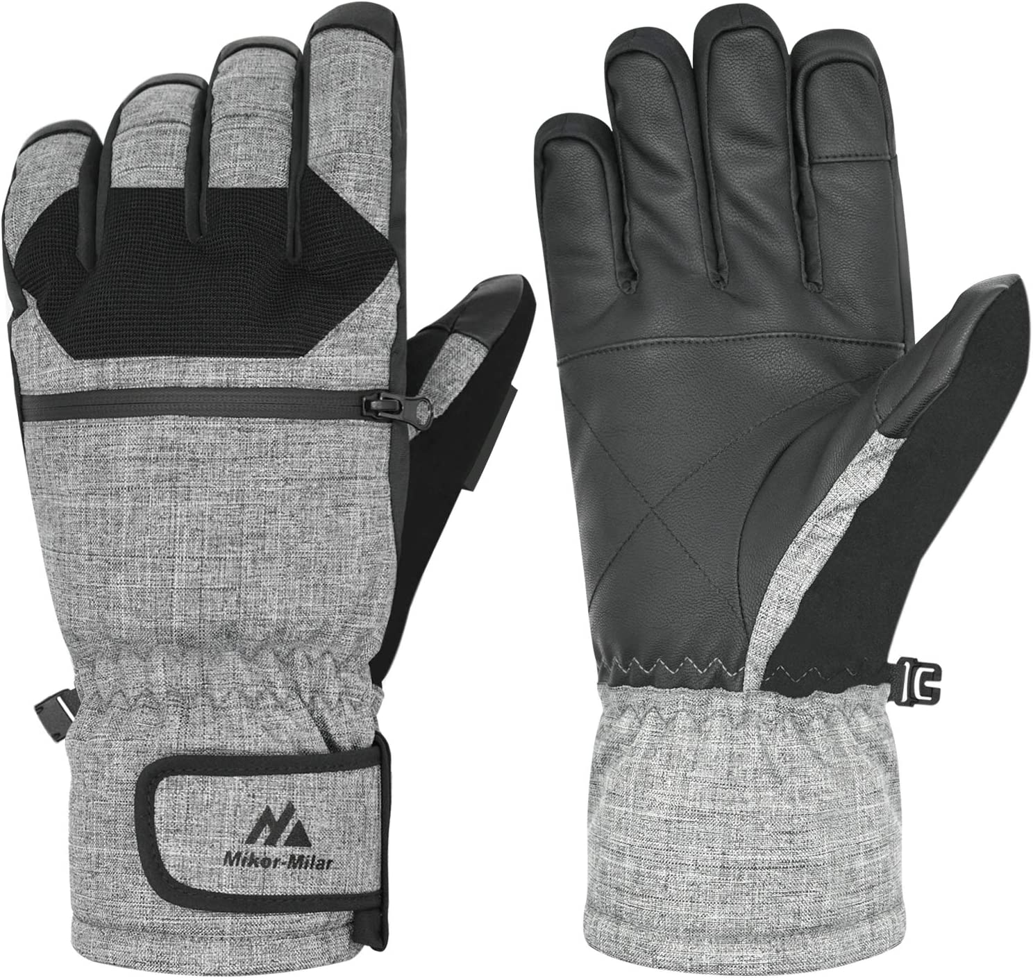 Mikor-Milar Max 78% OFF Year-end gift Cold Weather Gloves 140g Touch Screen Waterproof