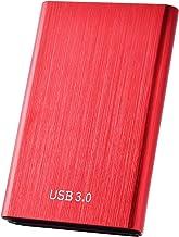 External Hard Drive,Portable Hard Drive 1TB 2TB External Slim Hard Drive Data Storage Compatible with PC, Laptop and Mac(2...