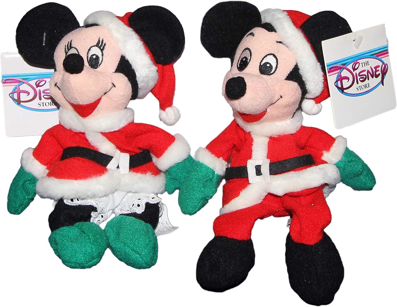 Mickey And Minnie Santa San Francisco Mall 1997 Popular product - Plush Bean Mini Bag Disney