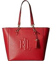 6PM:LAUREN Ralph Lauren 女士托特包 原价$258 现价$109.99