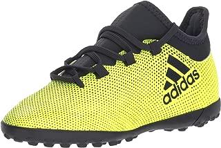 adidas Boys' X Tango 17.3 TF J Soccer Shoe, Legend Ink/Solar Yellow, 4 Medium US Little Kid