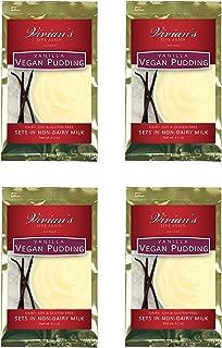 Vegan Creamy Vanilla Pudding by Vivian's Live Again 4pk Dairy Free Soy Free Gluten Free
