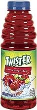 Tropicana Twister Cherry Berry Blast Drink, 20 Ounce, 12 Bottles