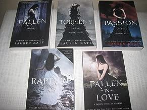 5 Book Set of Lauren Kate's Fallen Series (Fallen, Torment, Passion, Rapture, Fallen in Love)