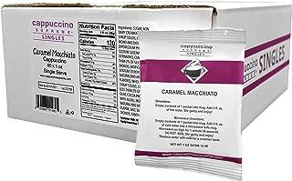 Cappuccino Supreme Caramel Macchiato Cappuccino Mix, 60 single serve pouches