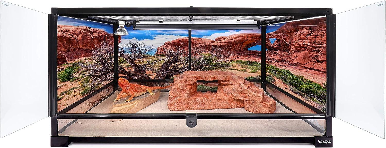 Carolina Custom Cages Terrarium, Large 36Lx18Dx18H; Easy Assembly