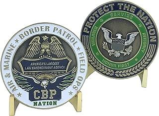 CBP Nation Challenge Coin AMO OFO Border Patrol