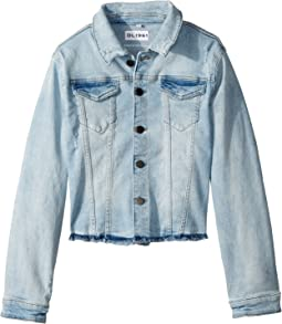 DL1961 Kids - Mid Wash Denim Jacket in Pirate (Big Kids)