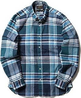 (ビームスプラス) BEAMS PLUS ビッグチェック シャギーボタンダウンシャツ 11115443139