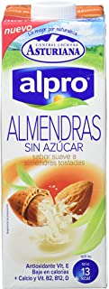 Alpro Central Lechera Asturiana Bebida de Almendra Sin Azú