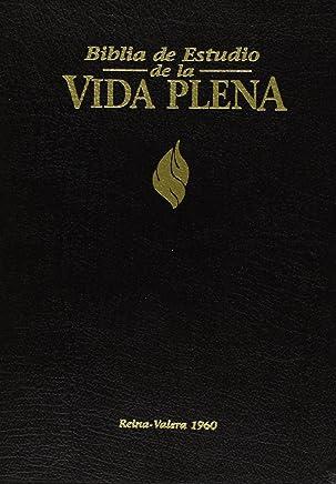 Biblia de Estudio Vida Plena, Español, Piel Negro