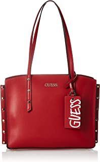 GUESS HWVG7880230 Tia Girlfriend Carryall, Bags Crossbody Woman, Red, One Size
