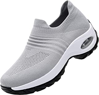 RomenSi Women's Fashion Sock Platform Sneakers Tennis...