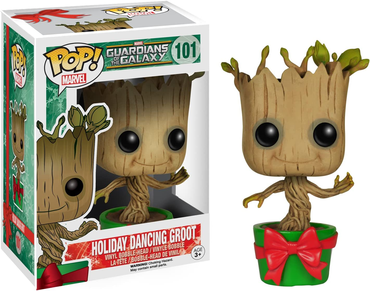 Groot Collectible Figure Holiday Guardians of The Galaxy Funko Pop Marvel