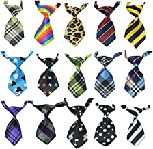 15Pcs/Pack Baby Boys Pet Necktie Cat Dog Tie Collar Assorted Cute Style Adjustable (Style 1021)