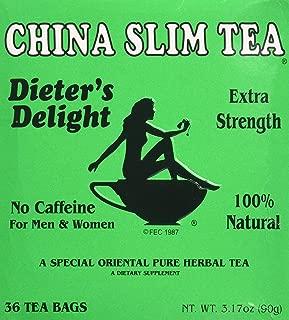 China Slim Dieter's Tea Delight (36 TB x 2 Pack)