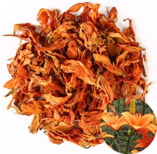 TooGet Fragrant Natural Lily Flowers Organic Dried Lilium Flowers Wholesale, Top Grade - 4 OZ
