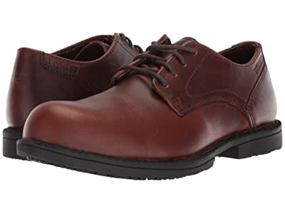 Wolverine Bedford Oxford Steel Toe (Brown) Men