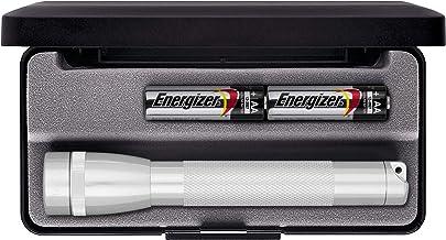 Maglite Mini Incandescent 2-Cell AA Flashlight in Presentation Box, Silver