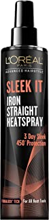 L'Oréal Paris Advanced Hairstyle Sleek It Iron Straight Heatspray, 5.7 fl. oz. (Packaging May Vary)