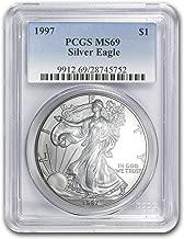 1997 Silver American Eagle MS-69 PCGS 1 OZ MS-69 PCGS
