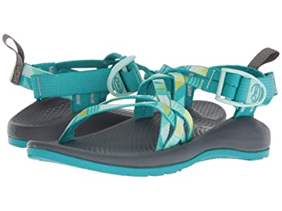 Chaco Kids ZX/1(r) Ecotread (Toddler/Little Kid/Big Kid) (Puzzle Opal) Girls Shoes