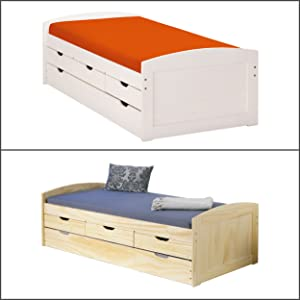 links 20900240 bed 90 x 190 cm ledikant kinderbed Functioneel bed kojenbett logeerbed