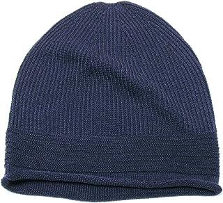(エッジシティー)EdgeCity ニット帽 メンズ ブランド ドラロン変わり織りシームレスニットキャップ ゆったりかぶれる初心者向け 000400-0000