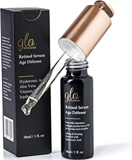 Retinol Face Serum With Hyaluronic Acid and Vitamin E, Brightens and Hydrates, Lifting the Skin While Filling In Those Fine Lines and Wrinkles 30ML