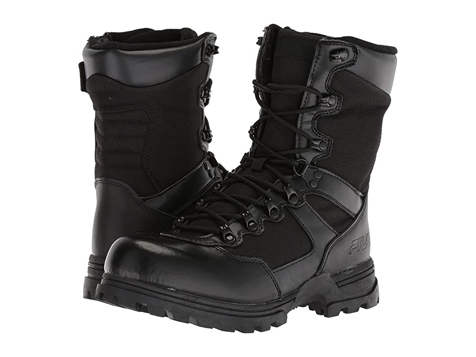 Fila Stormer Work Boots (Black/Black/Black) Men