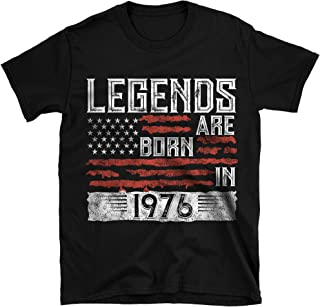 Legends Born in 1976 T-Shirt Birthday Gift