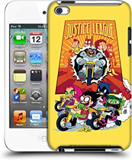 Official Teen Titans Go! to The Movies Justice League 2 Hollywood Graphics Hard Back Case Compatible for Apple iPod Touch 4G 4th Gen