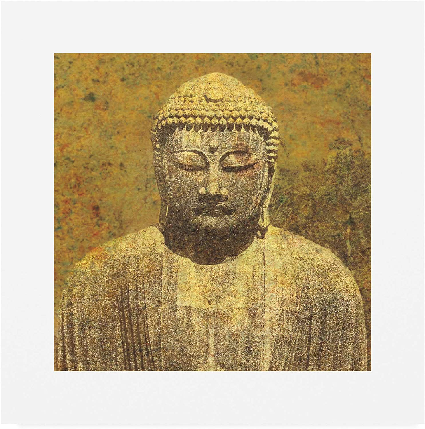 Trademark Fine Art Asian Buddha Crop by Wild Apple Portfolio, 14x14