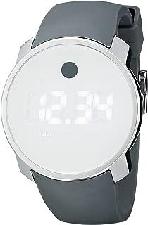 Men's 3600253 Bold Digital Display Swiss Quartz White Watch