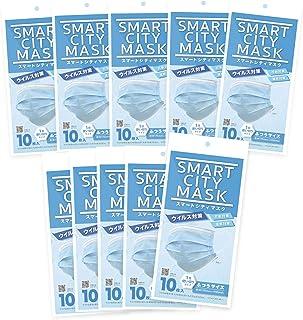 【即納】マスク 100枚 10枚入りx10 サージカルマスク 3層構造 BFE試験 ウイルス対策 大人用 飛沫 花粉 風邪 予防 快適 使い捨て 予備