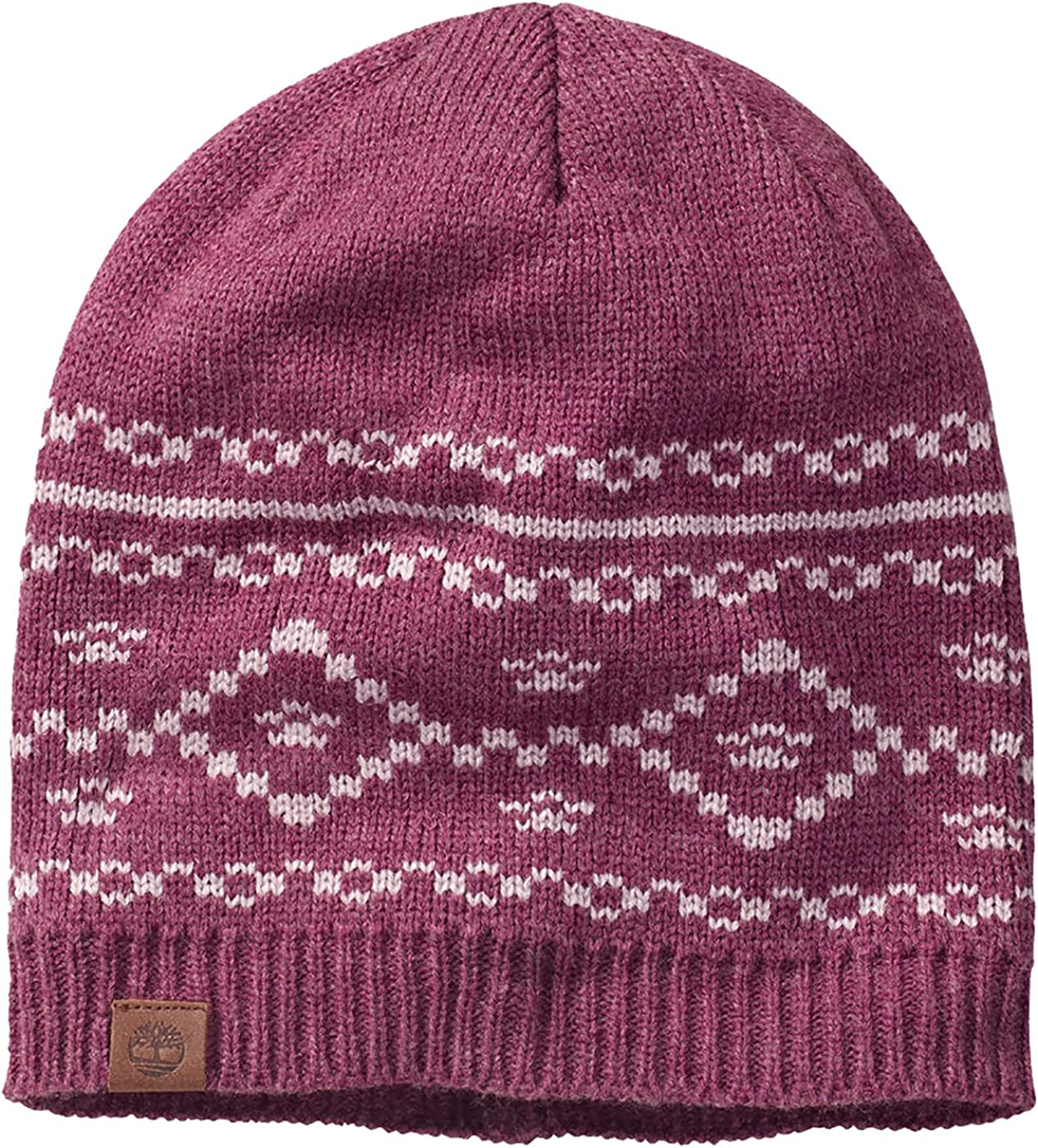 Timberland Women's Patterned Slouchy Beanie