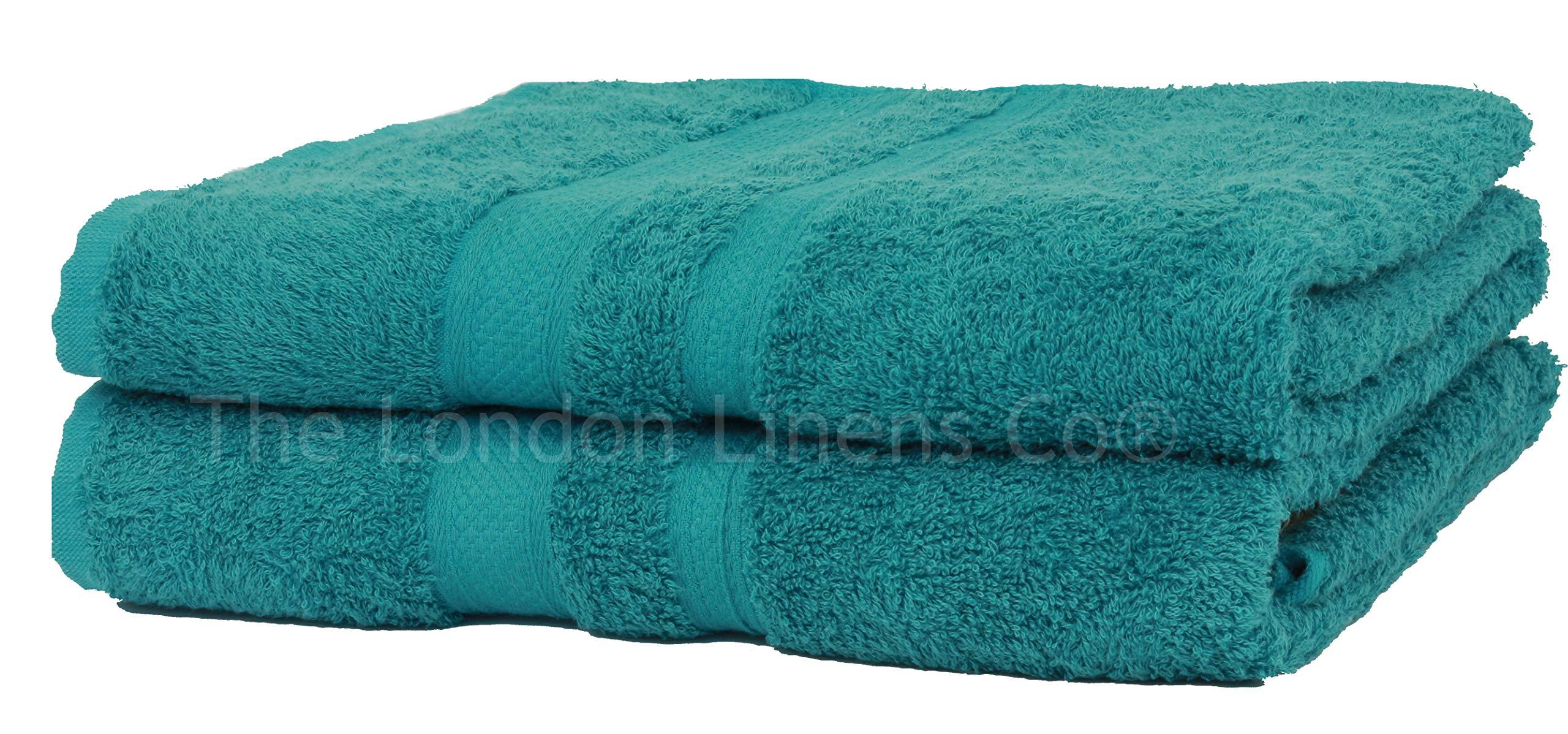 NAUSHA 2 x Super Large Bath Sheets Towels 100/% Egyptian Cotton 600 GSM Royal Blue