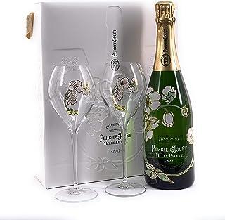Perrier Jouët Belle Epoque 2012 Champagne Brut 0,75l in Geschenkbox inkl 2 Gläser 12,5% Vol
